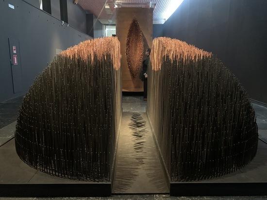 В Третьяковской галерее Алла Урбан дошла до «Точки» и поднялась ввысь