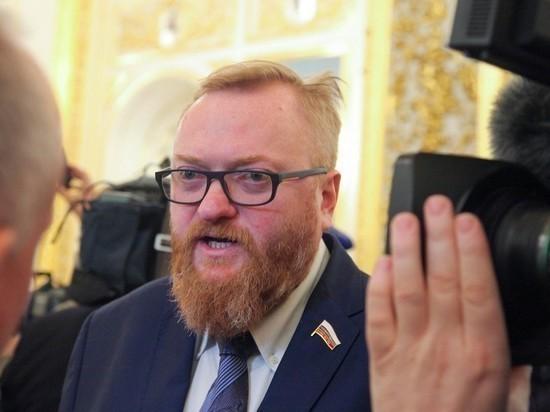 Милонов назвал «негодяйством» возможный перенос ЧМ-2021 из Белоруссии