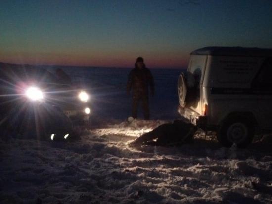 Из снежного плена под Волгоградом спасатели вытащили жителя Подмосковья