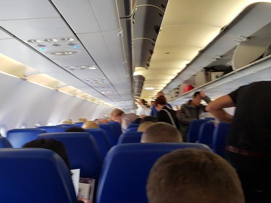 """Самолёт авиакомпании """"Победа"""", вылетевший из Магаса в Москву до столицы не добрался"""