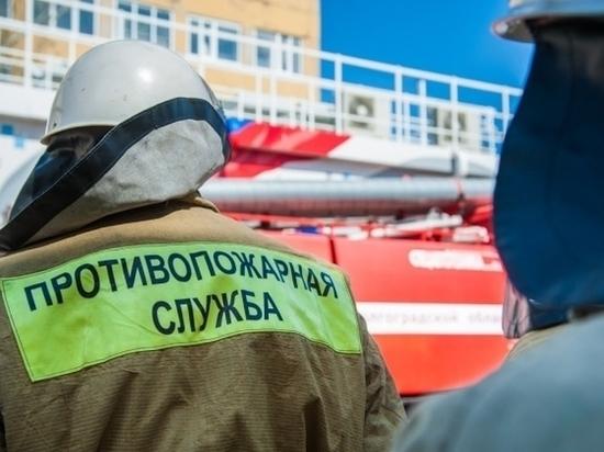 На пожаре в Камышине погиб пенсионер