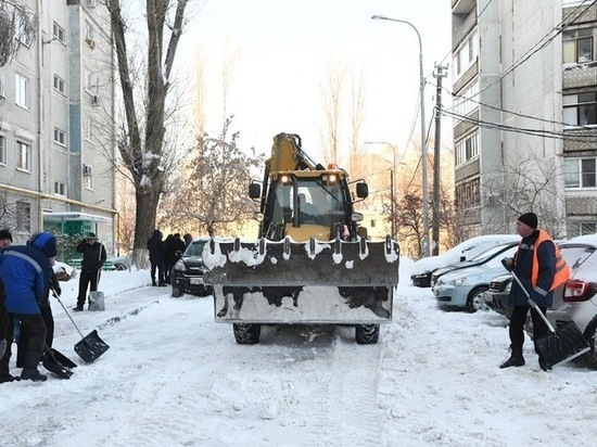 Сильный снегопад в Волгоградской области продлится до 19 января