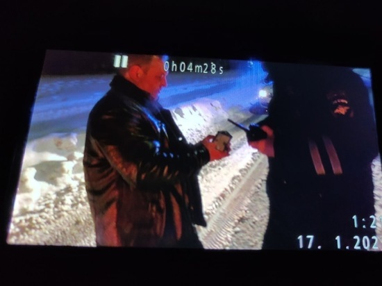 В Кирове в ночь на 17 января на улице Менделеева сотрудники ДПС задержали водителя «Шевроле Авео» с  признаками алкогольного опьянения