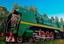 """Как сообщает """"МК в Ярославле"""", стало известно о том, как сложится дальнейшая судьба паровоза П-36, более 20 лет простоявшего в качестве памятника на станции Шарья в Костромской области"""