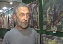 В калмыцкой столице открылась выставка художника из Адыгеи