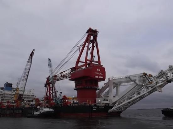 США решили ввести санкции против трубоукладчика «Северного потока-2»