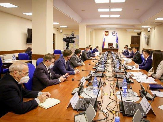 18 января на совещании у председателя правительства Якутии Андрея Тарасенко обсудили вопросы разработки железорудного месторождения «Пионерское» в Нерюнгринском районе
