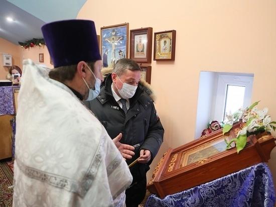 В храмах Волгоградской области проходят крещенские богослужения