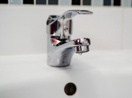 Во вторник в Рязани еще десять домов остались без холодной воды
