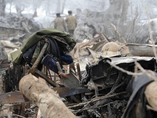 Эксперты МАК обнародовали причины падения самолета в Кыргызстане