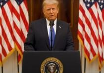 Трамп в прощальной речи пообещал молиться за успехи Байдена