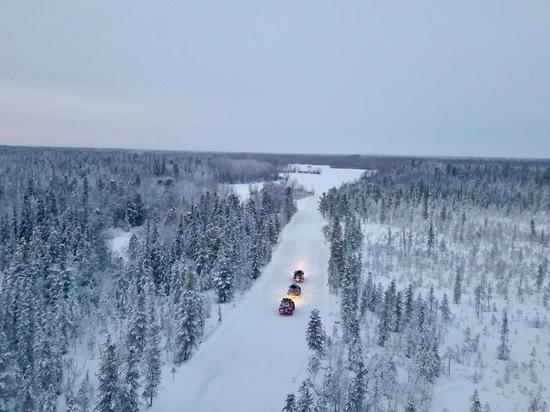 Блогер-путешественник Сергей Сайман снова приехал на Ямал