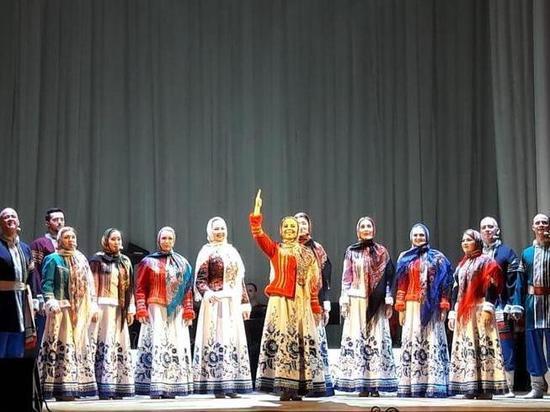 Астраханский ансамбль вернулся с гастролей с новой песней