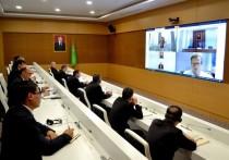 Онлайн-конференция с участием туркменских и немецких медиков