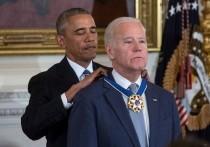Бывший президент США Барака Обама поздравил своего бывшего вице-президента, ныне избранного 46-го президента Джо Байдена со вступлением в должность, которое формально должно произойти в ближайшие минуты