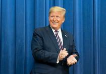 Дональд Трамп следил за церемонией инаугурации избранных президента и вице-президента США Джо Байдена и Камалы Харрис