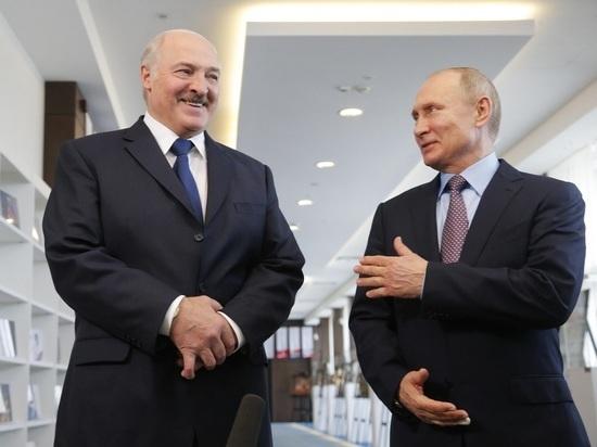 Путин и Лукашенко обсудили Союзное государство и коронавирус