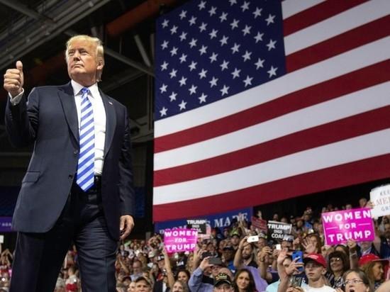 Трамп не сделал Америку снова великой, сочли большинство граждан США