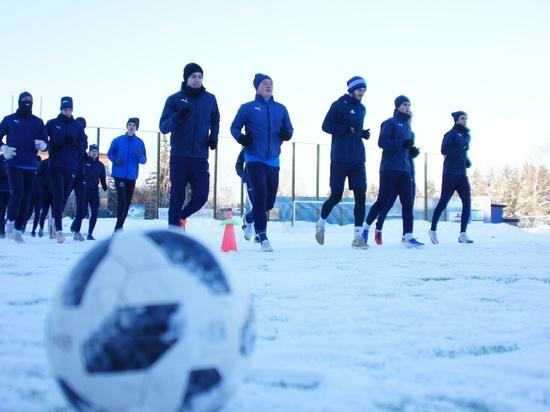 """Футболисты """"Калуги"""" приступили к тренировкам"""
