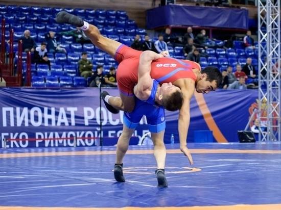 Забайкалец завоевал титул чемпиона России по греко-римской борьбе