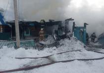 Житель Башкирии погиб при пожаре в своем доме