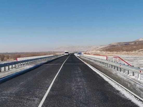 Мост через ручей в Агинском районе отремонтировали на полгода раньше