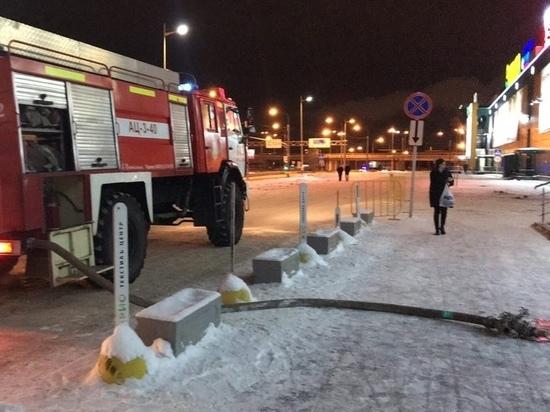 В ярославском торговом центре сгорела химчистка