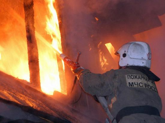 На Дону произошло возгорание в частном доме