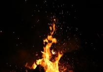 В Рязанской области на пожаре погиб мужчина