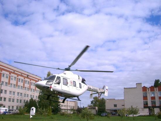 В 2021 году вертолет санавиации в Марий Эл сделает 39 вылетов