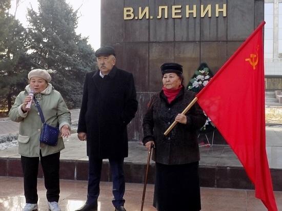 В Бишкеке почтили память Владимира Ленина