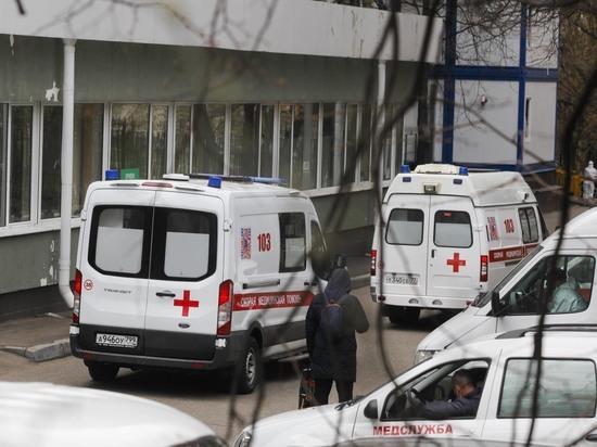 Ребенка госпитализировали в больницу Сперанского
