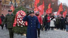 Акция Памяти Ленина с возложением цветов прошла на Красной площади