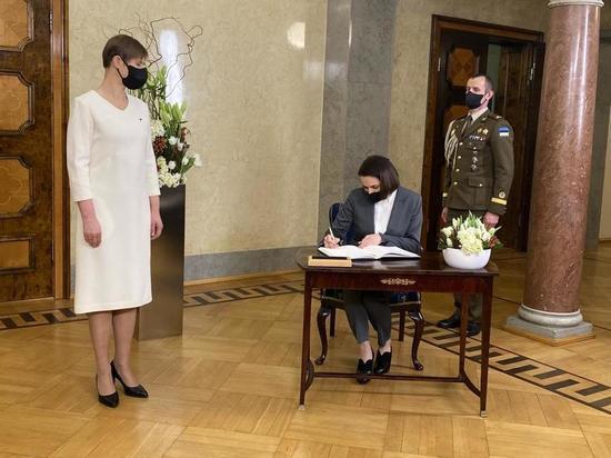 Тихановская встретилась с президентом Эстонии