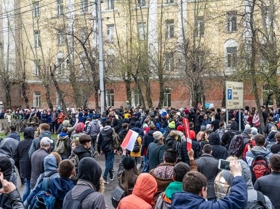 МВД пригрозило красноярцам за участие в шествии в поддержку Навального