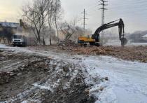 В Нижнеудинске в январе снесли 44 аварийных дома