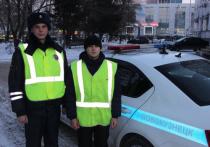 Кузбасские полицейские спасли от пожара женщину и ее питомцев