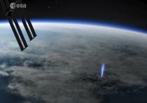 Обсерватория МКС сделала из космоса снимки редчайших атмосферных явлений