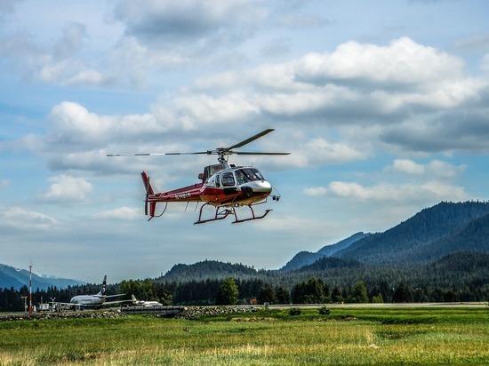 На Чукотке вертолет санавиации совершил аварийную посадку