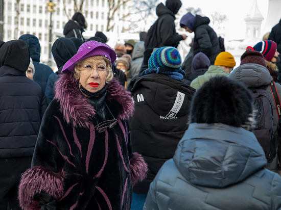 Митингующие в Южно-Сахалинске пришли на акцию без масок