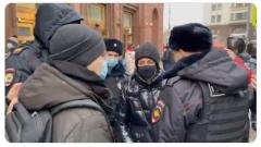 Опубликовано видео задержания Юлии Навальной
