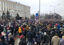 Оперштаб: 19 человек с коронавирусом пришли на митинг в Москве