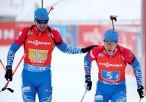 В семи эстафетах подряд мужская команда России была четвертой