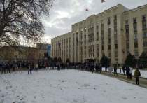 В Краснодаре протестующие «навальнисты» расходятся
