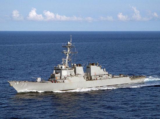 Эсминец США Donald Cook снова зашел в Черное море