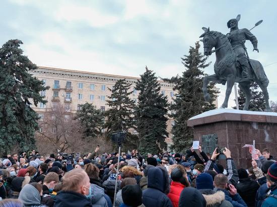 В Волгограде 19 участников незаконной акции оштрафуют на 10 тысяч