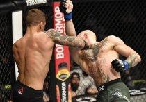 Турнир UFC 257 завершился громкой сенсацией