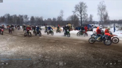 Зрелищные и трудные мотогонки состоялись в Серпухове