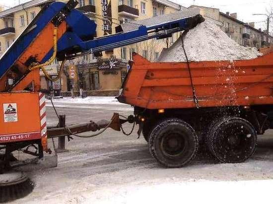 Власти Читы пообещали активнее убирать снег с дорог