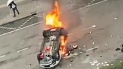 В Нидерландах протесты переросли в погромы: антиковидные кадры